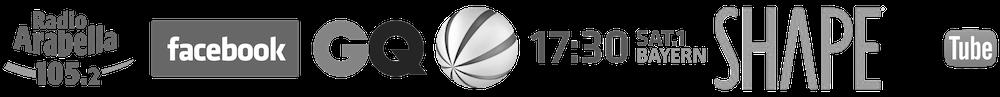 Personal Trainer München Logo Harry Grubert bekannt durch